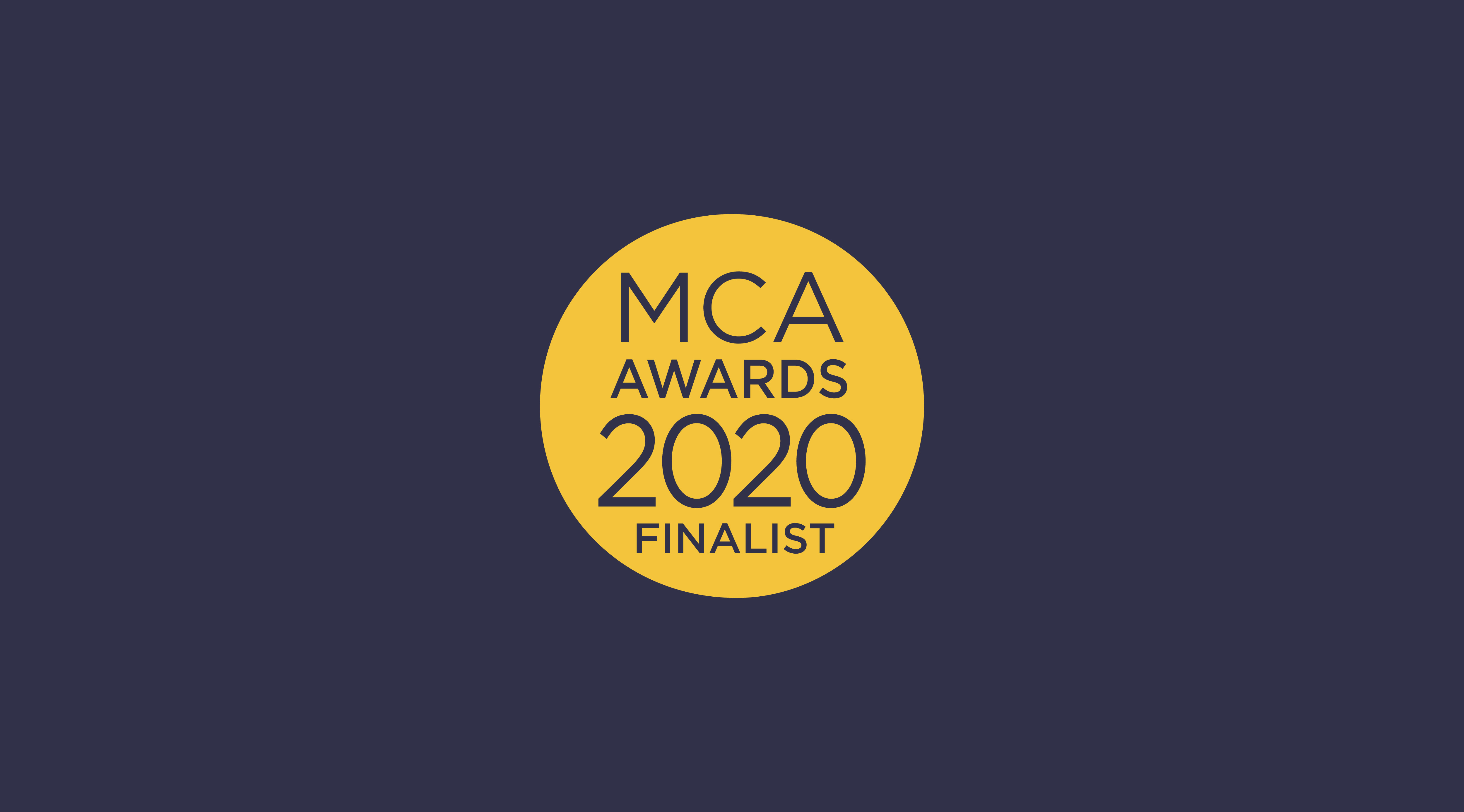 MCA Awards Finalists 2020