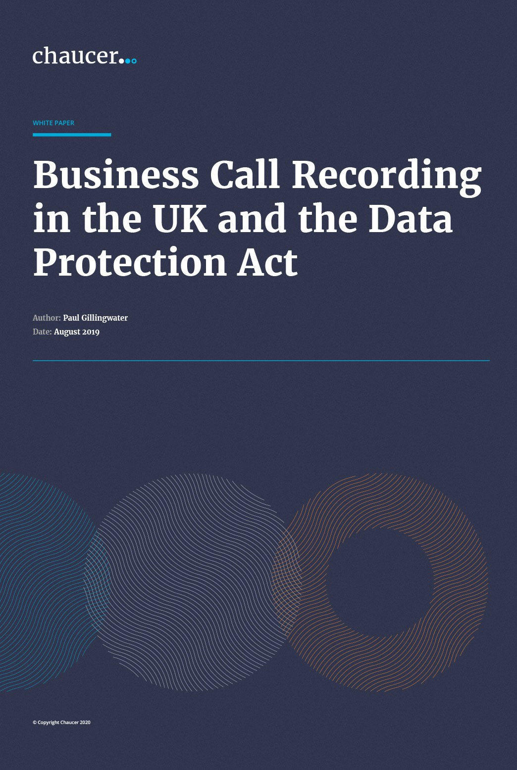 Business Call Recording in the UK and the Data Protection Act