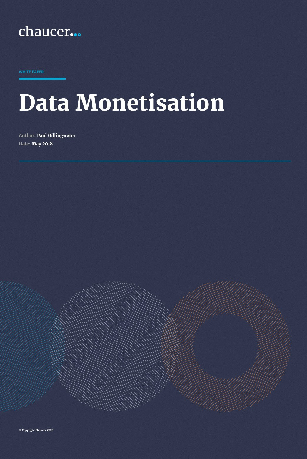 The Age Of Information: Data Monetisation